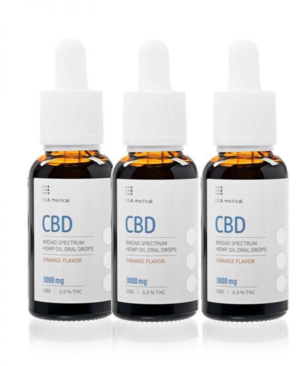 CBD kvapky 3000 mg