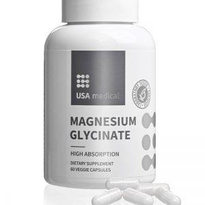 Kapsulový prípravok s obsahom glycinátu horečnatého s vynikajúcou využiteľnosťou.